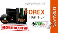 Forex партнер (видеокурс для VIP)