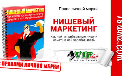 Нишевый Маркетинг (книга с правами личной марки)