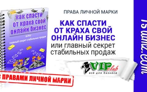 Как спасти от краха свой онлайн бизнес (книга с правами личной марки)