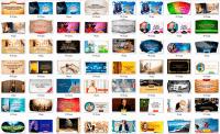 95 PSD шаблонов для поста в социальные сети