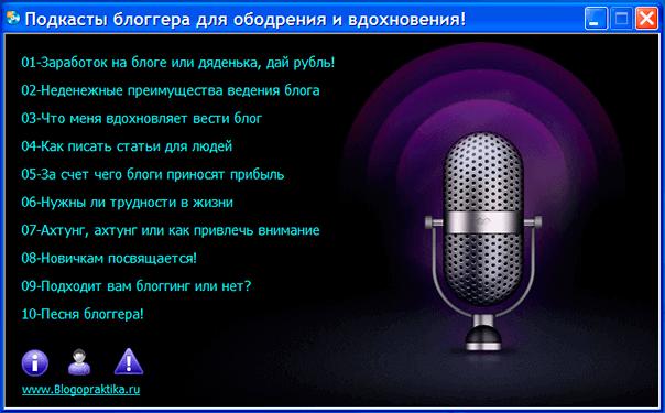 Содержание аудиокурса