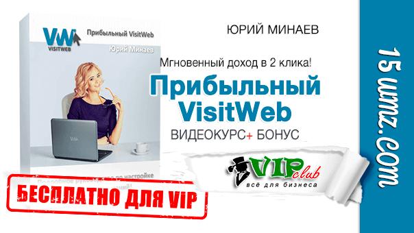 Прибыльный VisitWeb