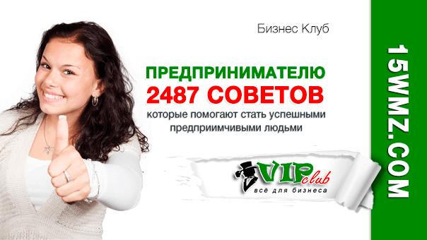 2487 советов предпринимателю