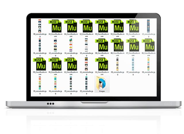 шаблоны для Adobe Muse