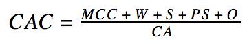формула САС